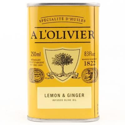 2925 - A l'Olivier olijfolie extra vergine citroen & gember 250 ml