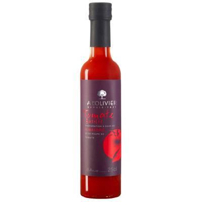 2938 - A l'Olivier fruitpulpazijn tomaat basilicum 250 ml