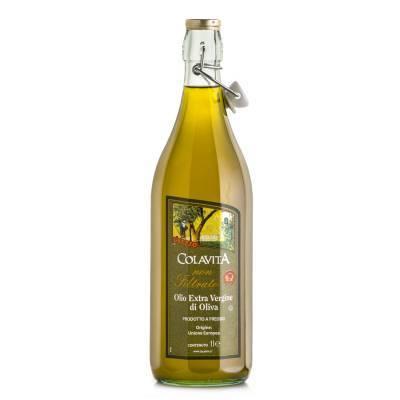 8254 - Colavita olijfolie ev european blend apulian 1 liter