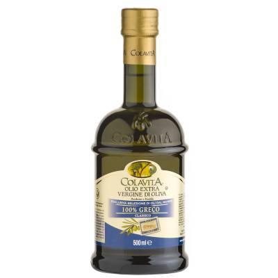 8448 - Colavita olijfolie extra vergine grieks 500 ml