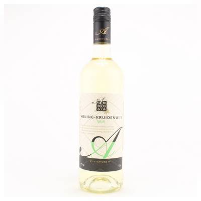 8657 - Ambrosia honing-kruidenwijn wit 750 ml