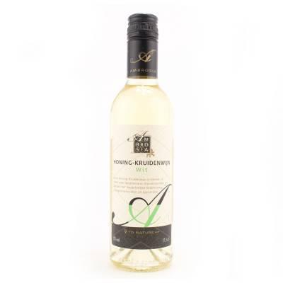 8666 - Ambrosia honing-kruidenwijn wit 375 ml