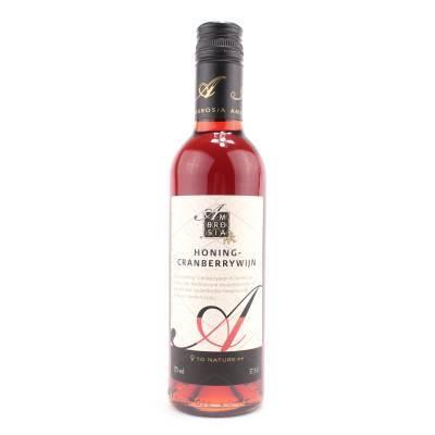 8670 - Ambrosia honing-cranberrywijn 375 ml