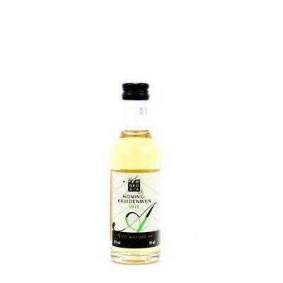 8676 - Ambrosia honing-kruidenwijn wit 50 ml