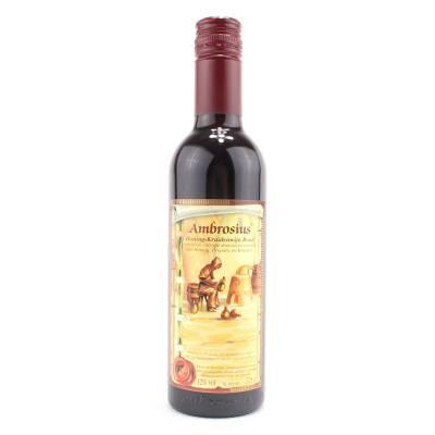 8684 - Ambrosius honing-kruidenwijn rood 375 ml