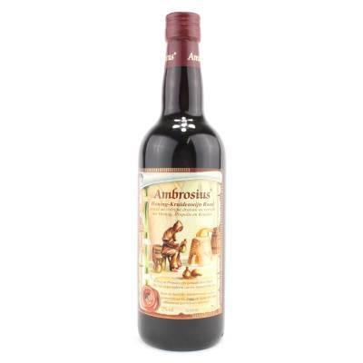 8685 - Ambrosius honing-kruidenwijn rood 750 ml