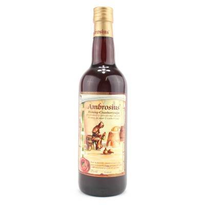 8690 - Ambrosius honing-cranberrywijn 750 ml