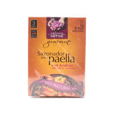 8084 - Antonio Sotos paellakruiden met saffraan 9 gram