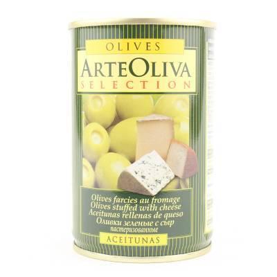 8016 - Arte Oliva olijven met kaas 120 gram
