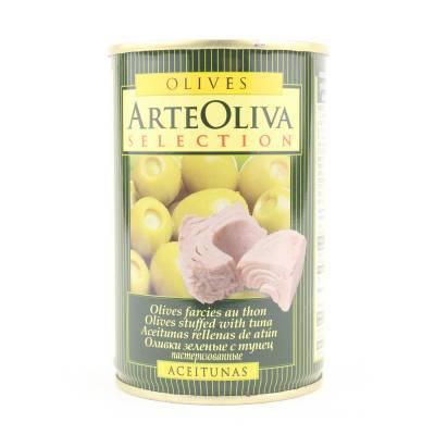 8017 - Arte Oliva olijven met tonijn 120 gram
