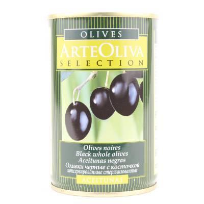 8018 - Arte Oliva olijven zwart 200 gram