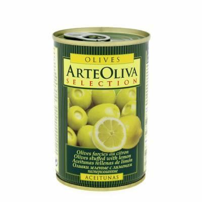 8028 - Arte Oliva olijven citroen 300 gram