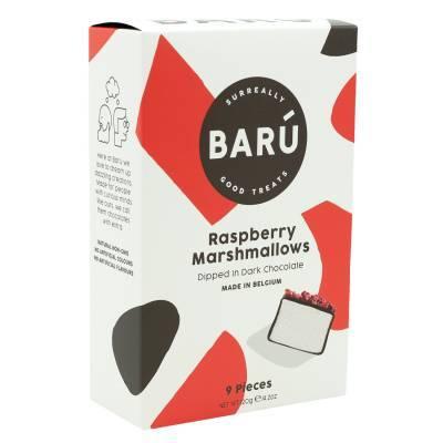 9102 - Barú raspberry marshmallows 120 gram