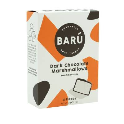 9106 - Barú dark chocolate marshmallows 54 gram
