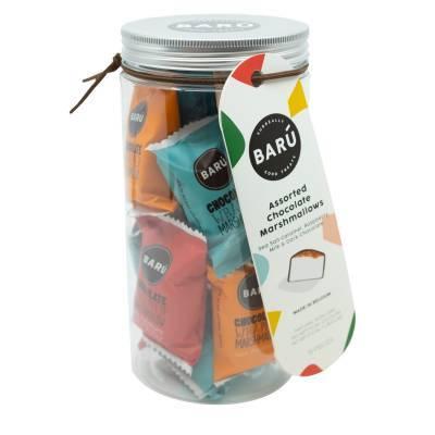 9186 - Barú gift jar marshmallows assorti smaken 208 gram