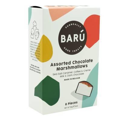 9196 - Barú gift box assortiment marshmallows 114 gram