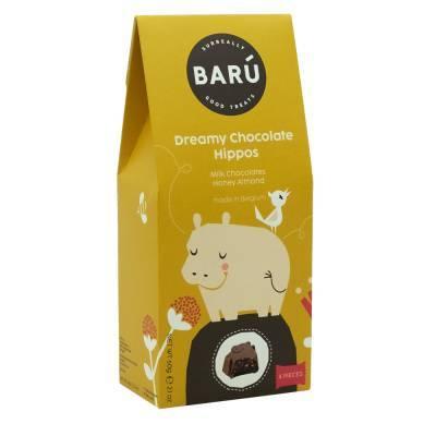 9221 - Barú hippo milk chocolate chocolate honey alm 60 gram