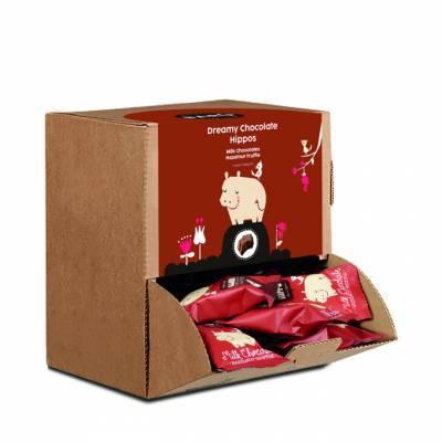 9230 - Barú hippo milk chocolate hazelnut truffle di 510 gram