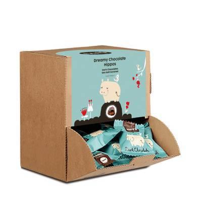 9231 - Barú hippo dark chocolate seasalt caramel dis 510 gram