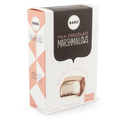 9100 - Barú milk chocolate marshmallows 120 gram