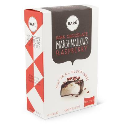 9102 - Barú raspberry marshmallows 120 gram
