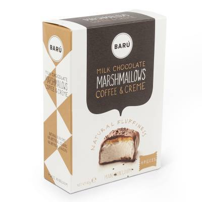 9103 - Barú coffee & cream marshmallows 60 gram