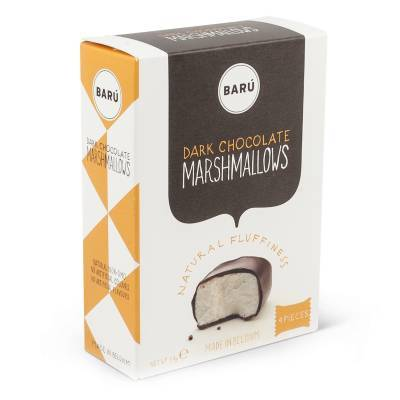 9106 - Barú dark chocolate marshmallows 54 gram