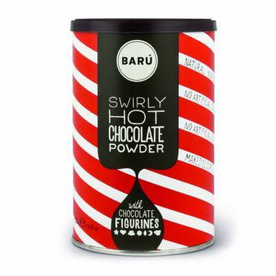 9124 - Barú swirly chocolate powder 250 gram