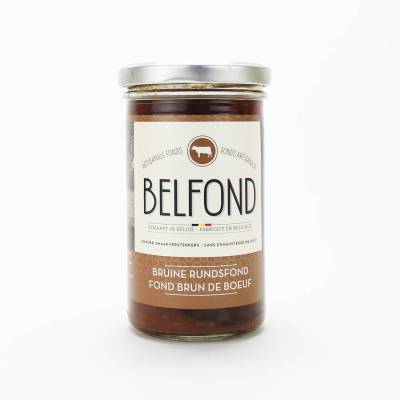 9673 - Belfond bruine rundsfond 240 ml