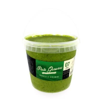 2975 - Benjamino groene pesto grootverpakking 1000 gram