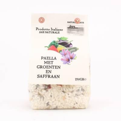 8499 - Naturalmente paella groenten en saffraan 250 gram