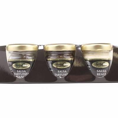 7938 - Tartuforo trio truffeltapenade 3 potjes 30 gram 90 gram