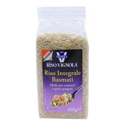 8115 - Riso Vignola basmati volkoren 500 gram