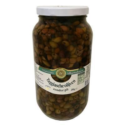 8148 - Venturino Taggiasche olijven zonder pit 2700 gram