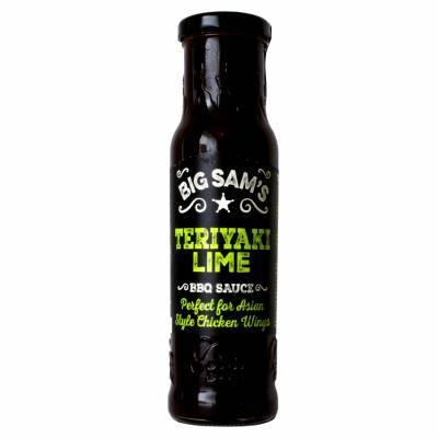 19208 - Big Sam's teriyaki lime sauce 250 ml