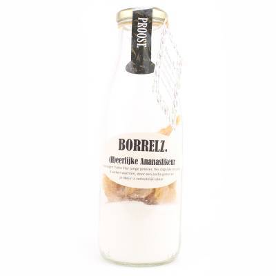 38004 - Borrelz ananaslikeur 700 ml