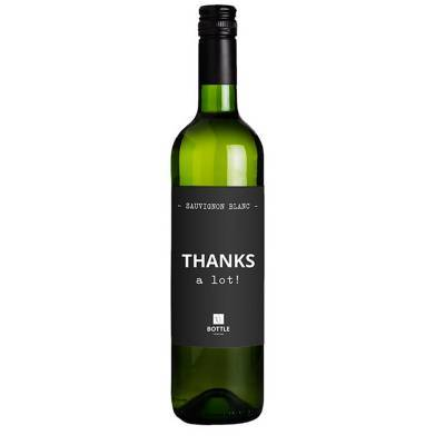 4835 - Bottle Language thanks a lot! sauvignon blanc 750 ml