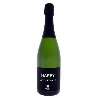 4837 - Bottle Language happy christmas! crémant de limoux 750 ml
