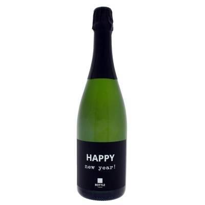 4838 - Bottle Language happy new year! cremant de limoux 750 ml