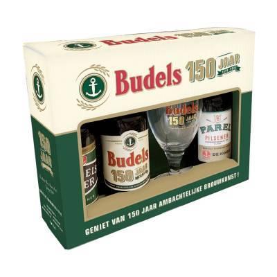 1188 - Budels Budels 6x Geschenkdoos 150 jaar 3x30 cl