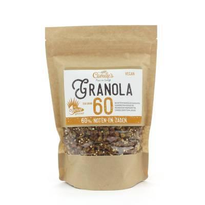 6688 - Camile's granola 60% met agave 350 gram