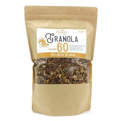 6688H - Camile's granola 60% met agave 1000 gram