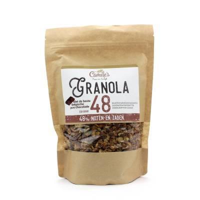 6689 - Camile's granola 48% met chocolade 350 gram