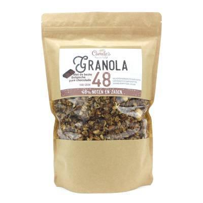 6689H - Camile's granola 48% met chocolade 1000 gram