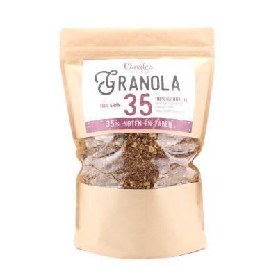 6690H - Camile's Granola 35% zaden en noten grootverpakking 1000 gram