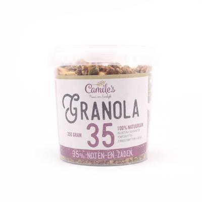 6690 - Camile's granola 35% zaden en noten 350 gram