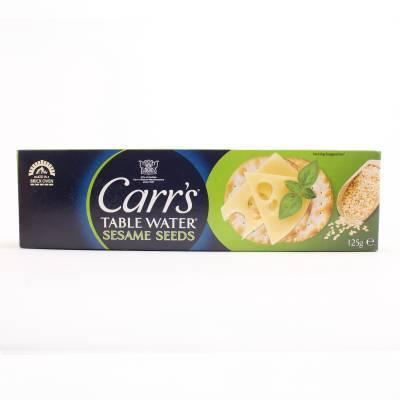 15903 - Carr's table water crackers sesam 125 gram