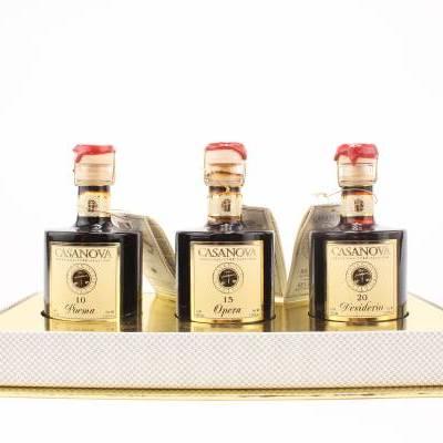 4746 - Casanova leo balsamico collezion 3 flesjes 100 ml 300 ml