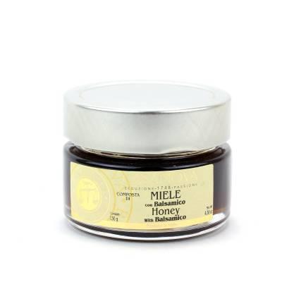 4770 - Casanova mostarda di miele con balsamico 130 gram