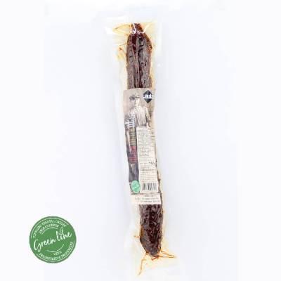 9691 - Caula green line fuet paprika 160 gr